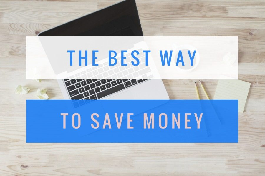 Easiest way to save money.