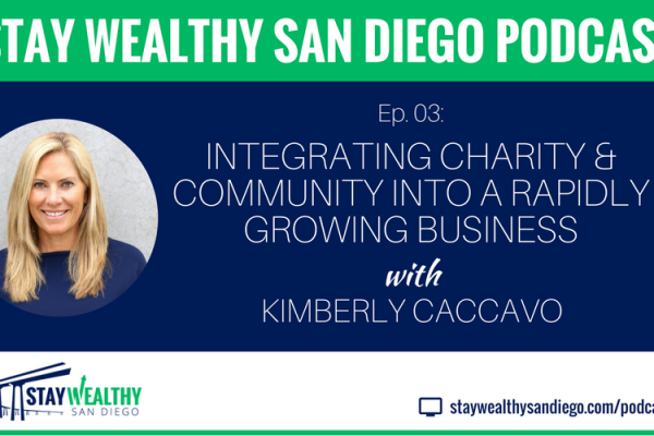 Ep #3: Integrating Charity and Community into a Rapidly Growing Business with Kimberly Caccavo