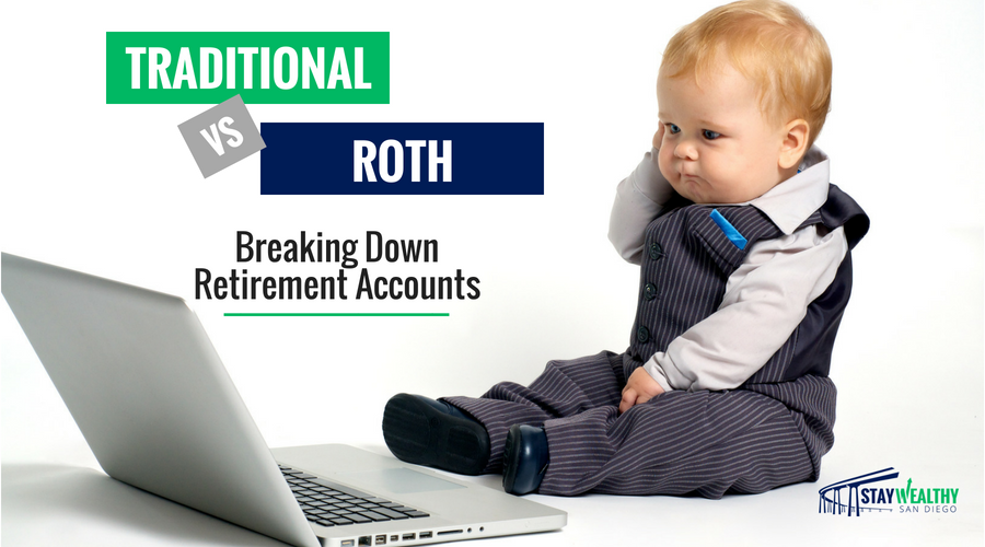 Traditional vs Roth accounts